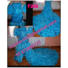 Vestido de segundas f235