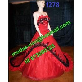Vestido de segundas f278