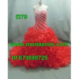 Vestido de segundas f279