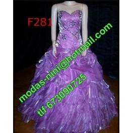 Vestido de segundas f281