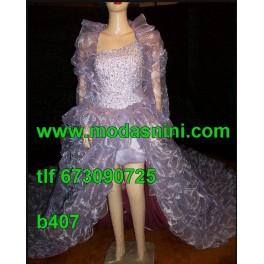 Vestido Bata de Ajuntamiento b407