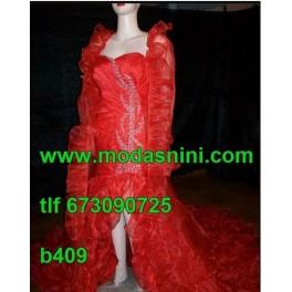 Vestido Bata de Ajuntamiento b409