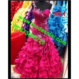 vestido de fiesta f691