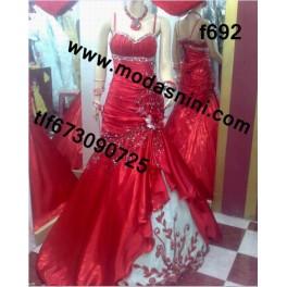 vestido de fiesta gitana f692