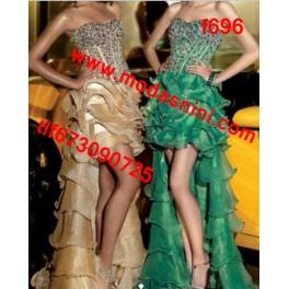 vestido de fiesta f696