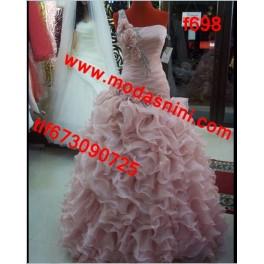 vestido de fiesta f698