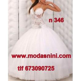 Vestido de Novia n346
