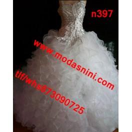 vestido novia gitana n397