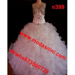 vestido novia n399