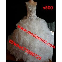vestido novia  gitana n500