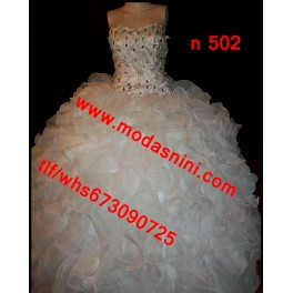 vestido novia gitana n502