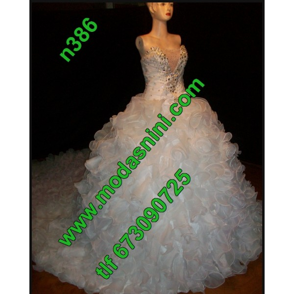 vestidos de novia n386