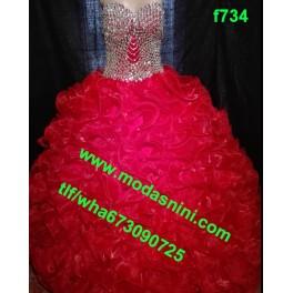 vestido segundas f734